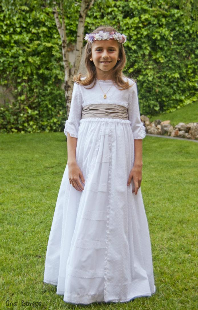Vestidos de comunion navascues 2019