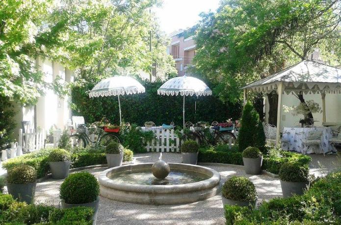 el jardin de villa clotilde