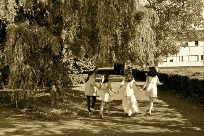 3 vestidos comunión