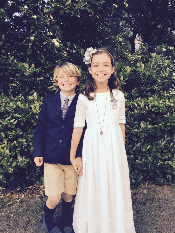8 vestidos primera comunion