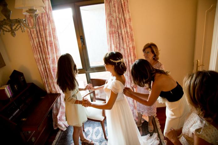 vestido novia alma aguilar