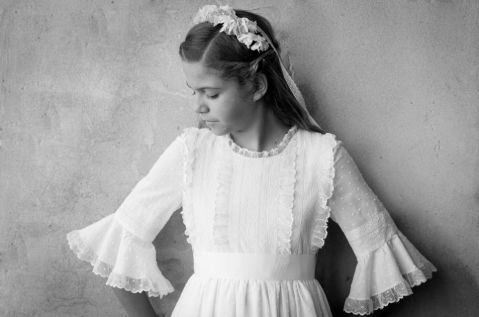 Mi primer vestido de comunion