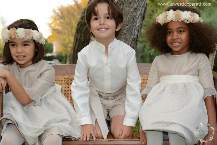 20c4a0305 vestidos pajes bodas - LA COMUNIÓN DE MARÍA