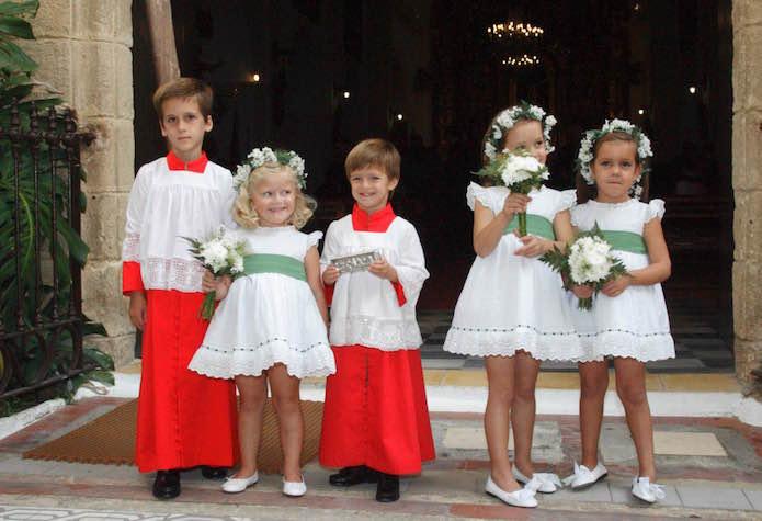 candela infantil vestidos arras