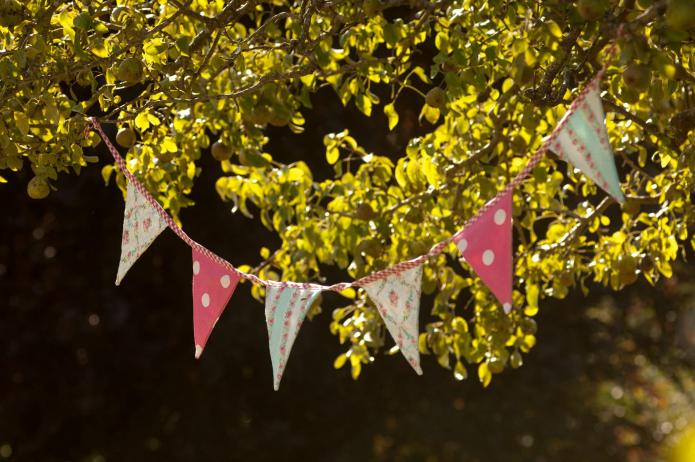 banderines decoracion fiestas blog primera comunion