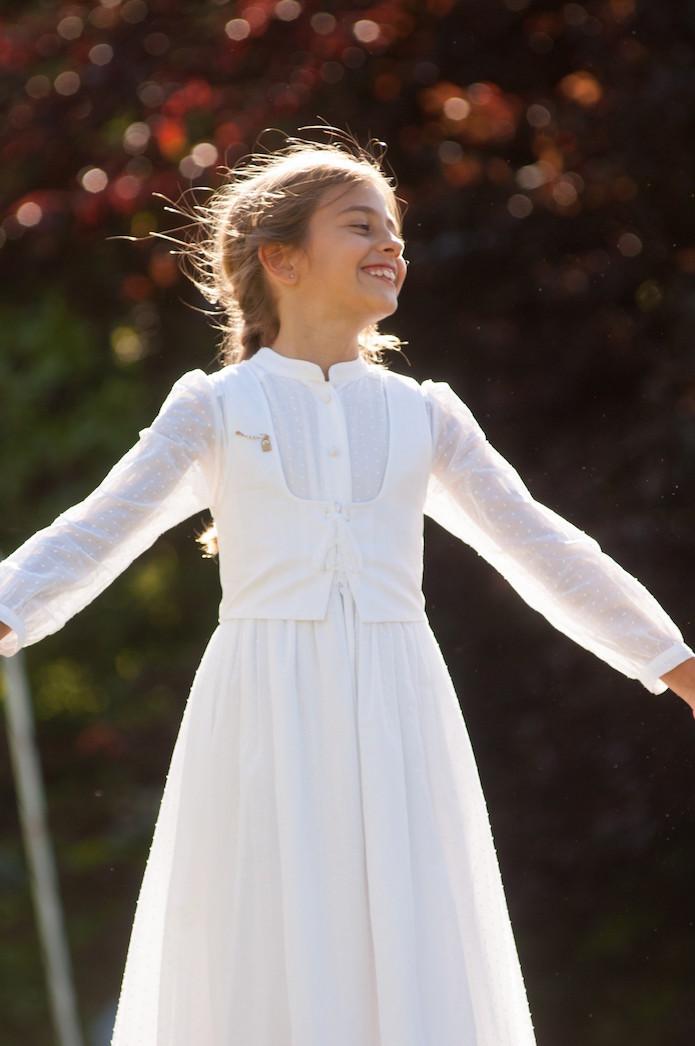 vestido primera comunion de maria