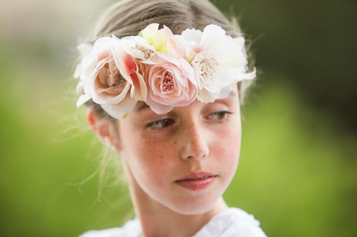 coronas flores blog primera comunion