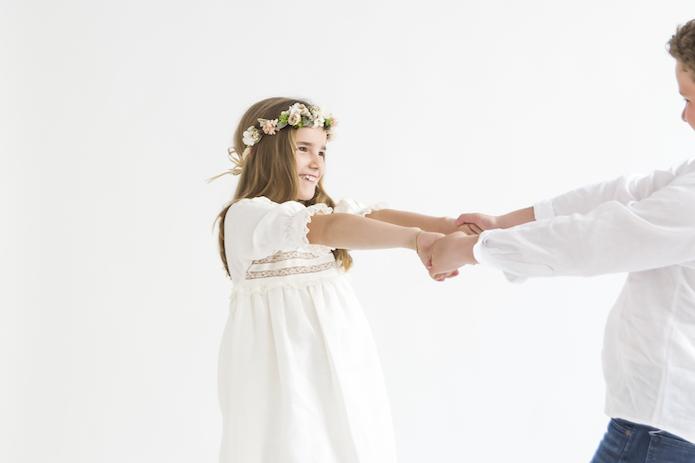 vestido comunion labube