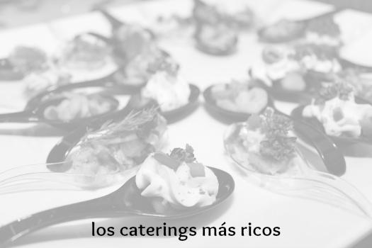 caterings comuniones