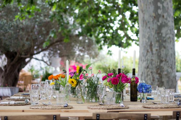 decoracion mesas comuniones