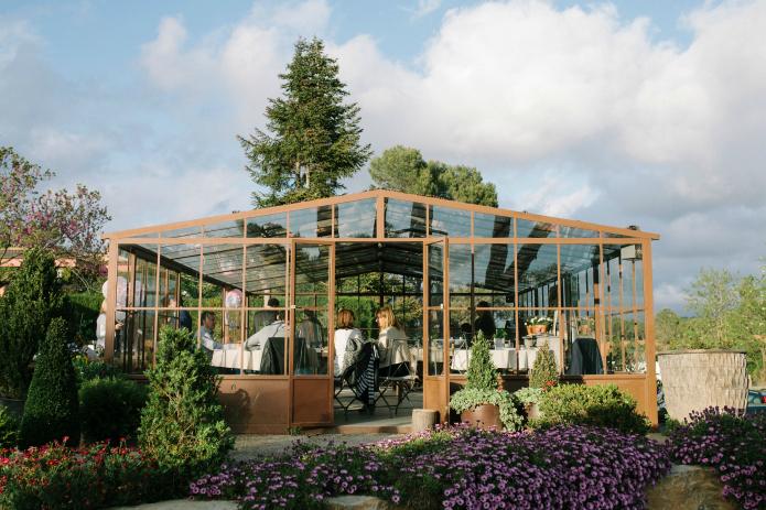 el invernadero del garden