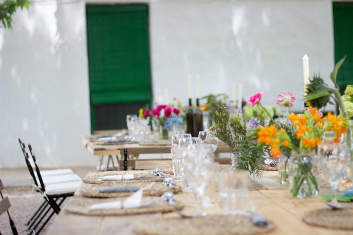 mesas comuniones