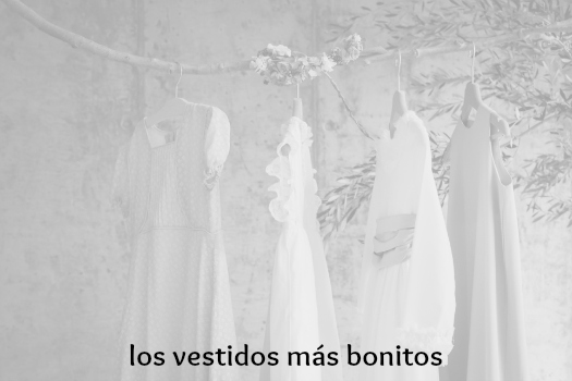 vestidos comunion bonitos