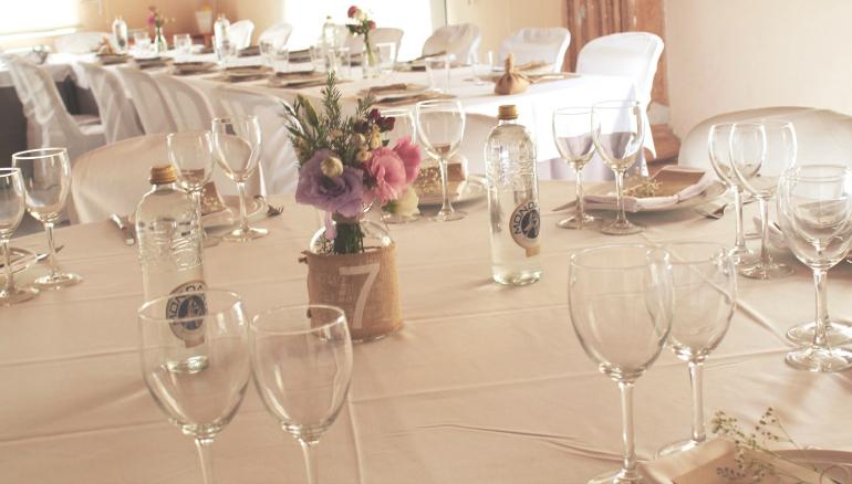 detalles mesas invitados
