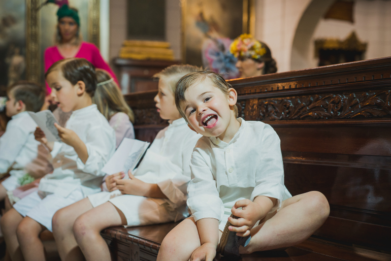 inspiracion niños bodas