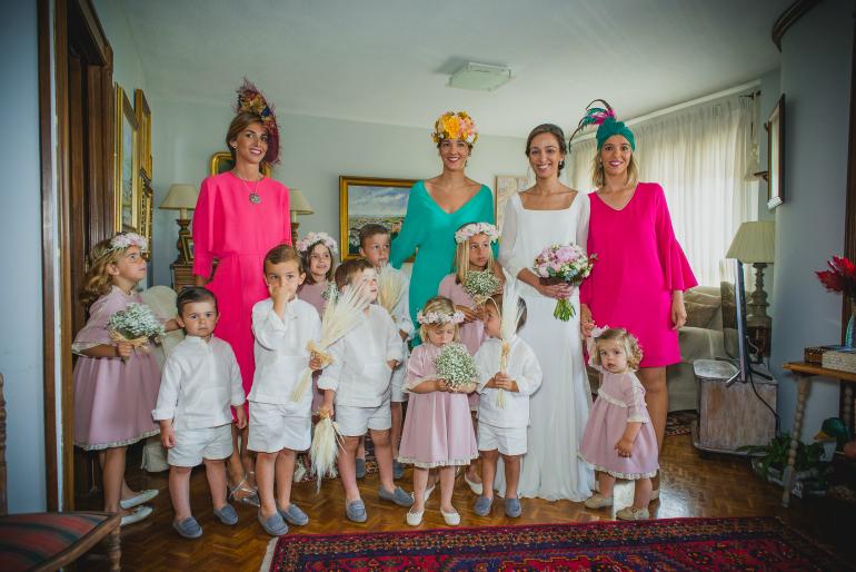 ropa pajes bodas