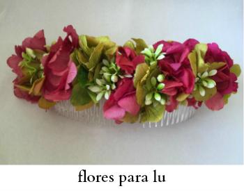 flores para lu