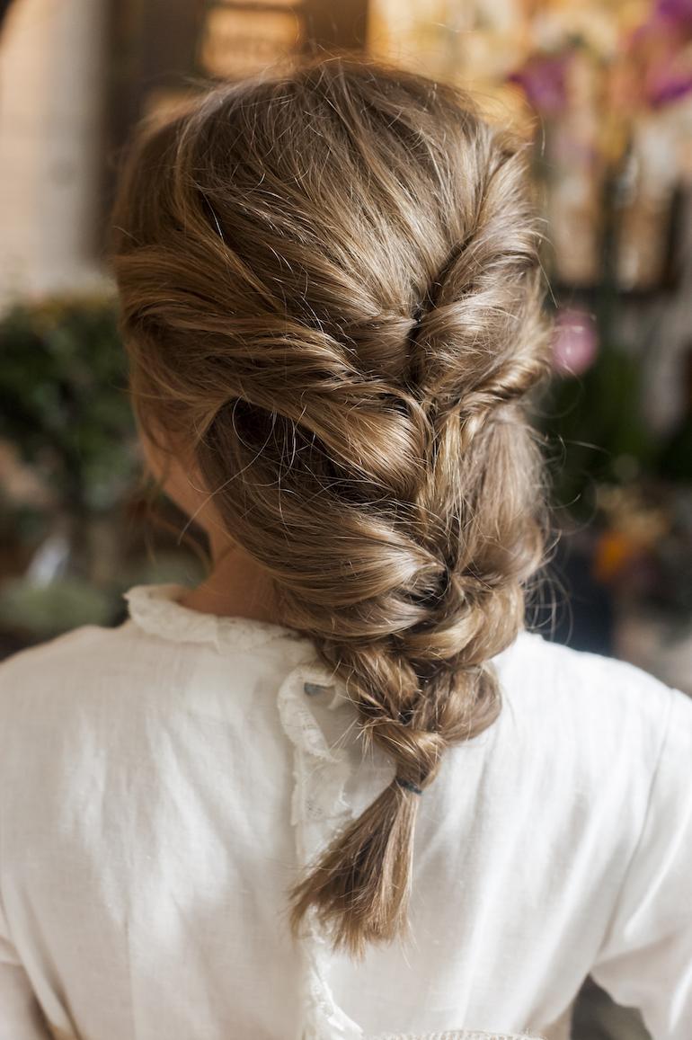Peinados Recogidos Para Las Niñas De Comunión La Comunión