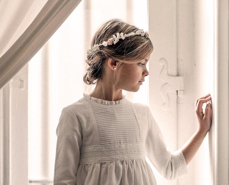 Ideas de estilo para peinados de comunion niña Colección de cortes de pelo estilo - PEINADOS RECOGIDOS PARA LAS NIÑAS DE COMUNIÓN - LA ...